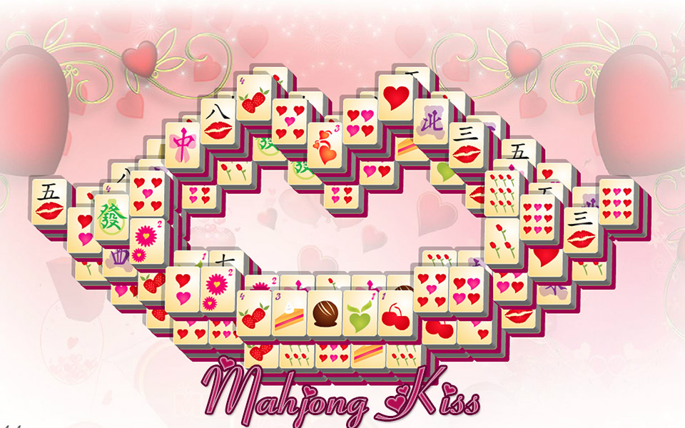 Screenshot Valentine's Day Mahjong