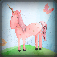 3D Unicorn Rainbow King-dom Juggle Safari Lite